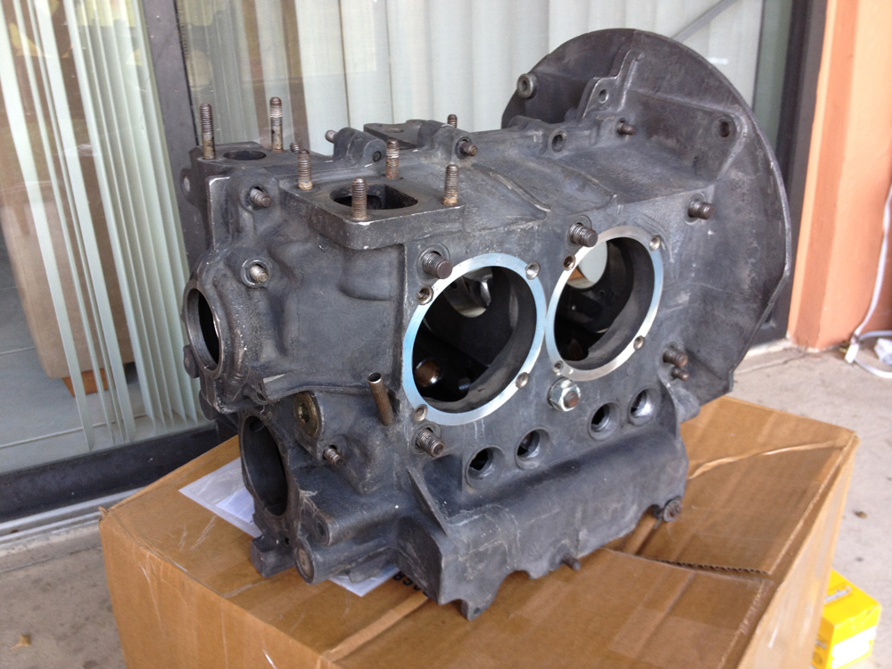 AS41 Engine Case Arrived From Brothers Machine Shop