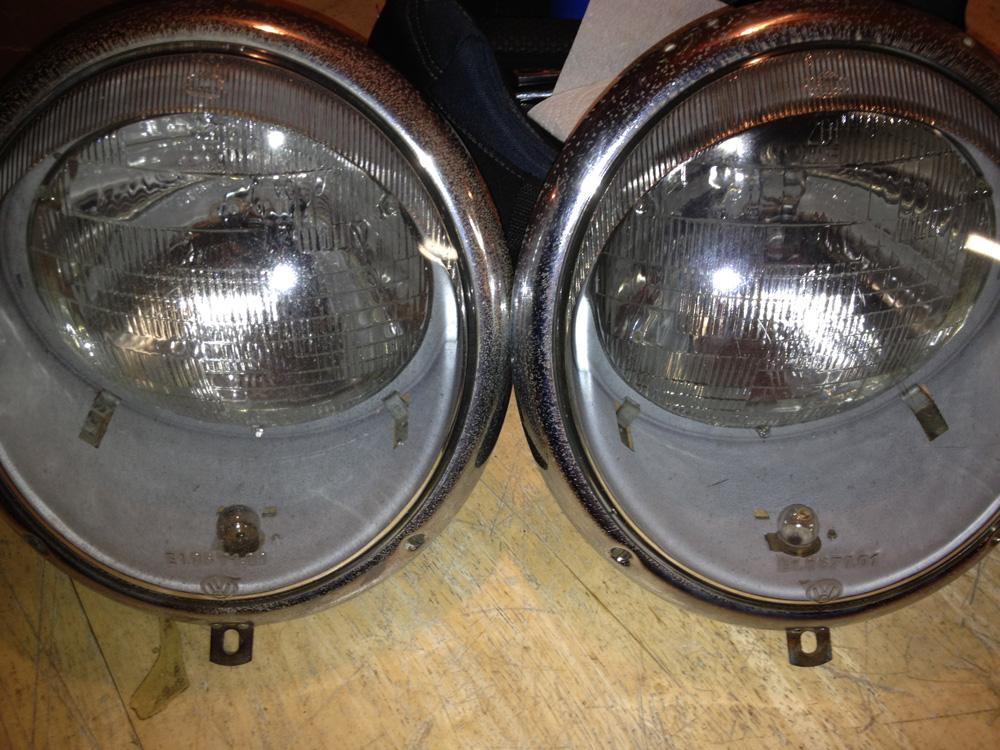 Headlight Embly Restoration 1963 Volkswagen Beetle