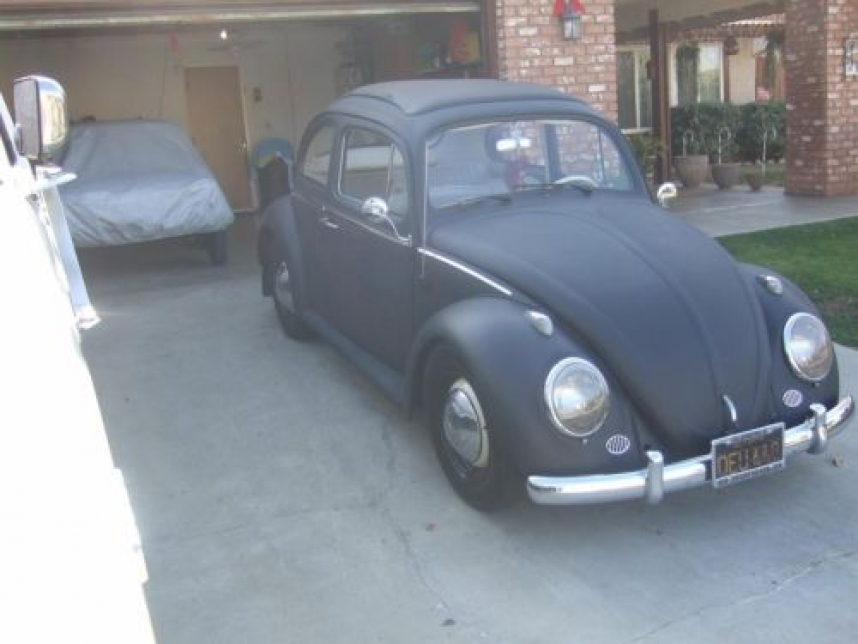 1963 VW Ragtop Bug - Right Front