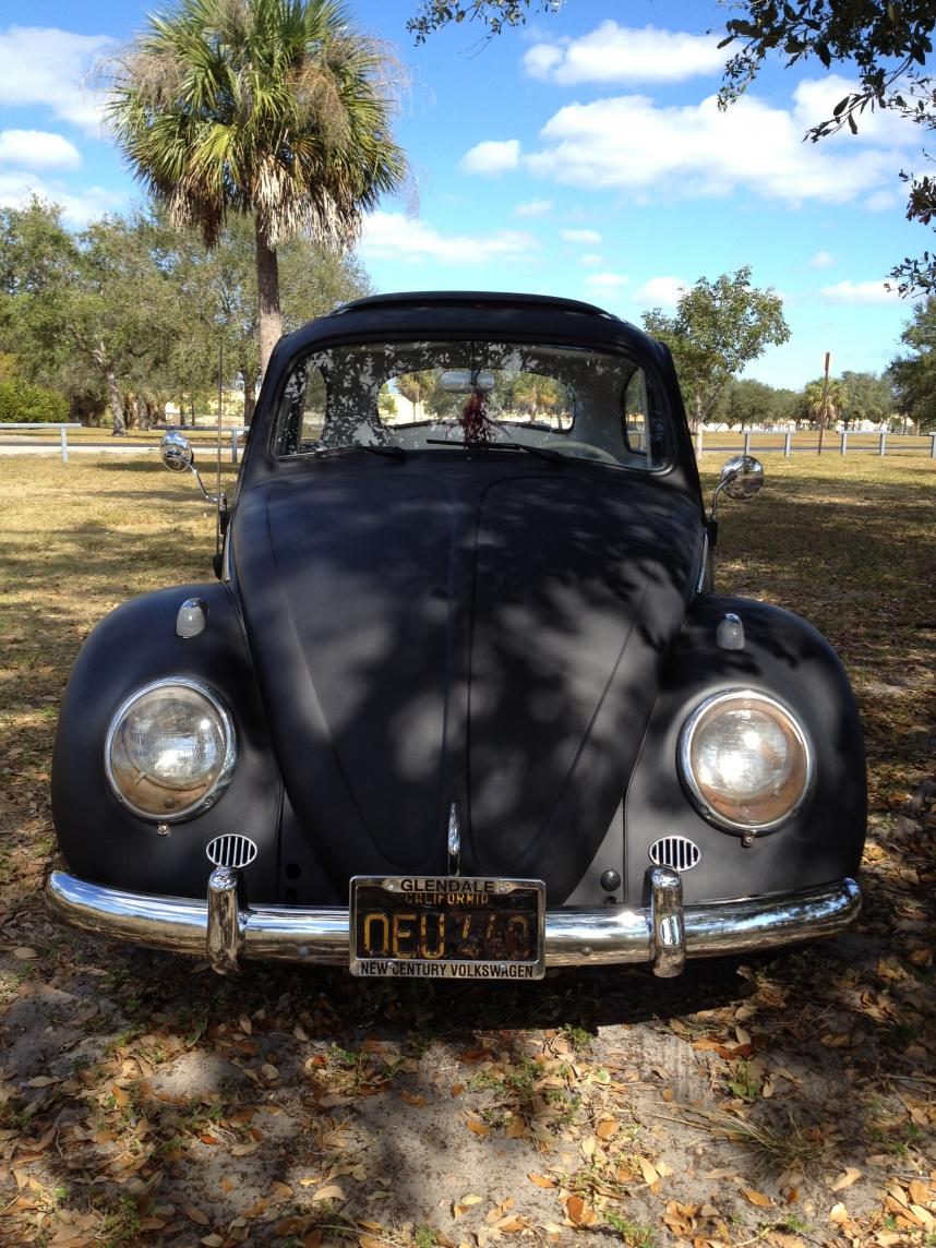 VW Bug Before Weekend BBQ   63 Ragtop VW Bug   Volkswagen Beetle Blog