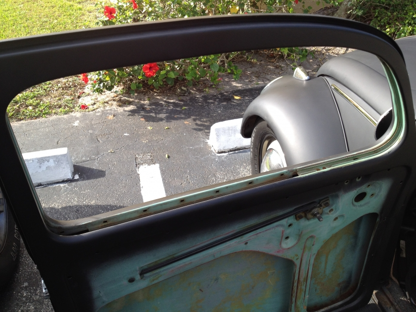 Door/Window Rubber Seals Replacement, 1963 Volkswagen Bettle.