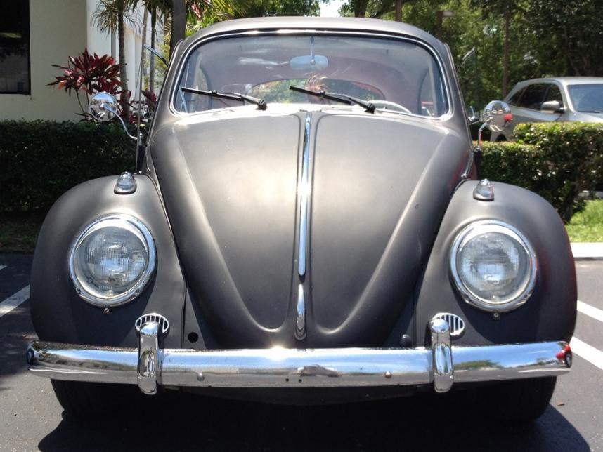 1963 Ragtop Volkswagen Beetle