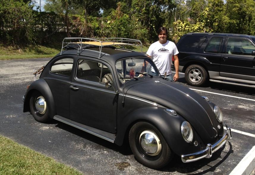 1963 VW Beetle Roof Rack