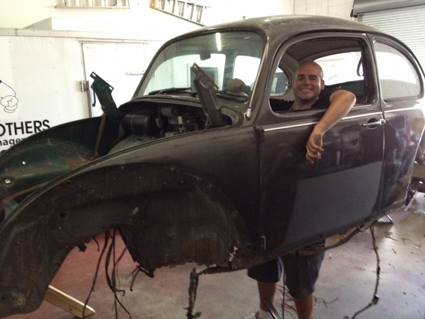 Tearing It Down! Ebert's '67 Bug
