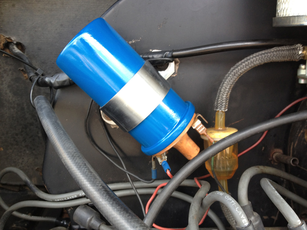 Painted My Vw Beetle U0026 39 S Engine Coil Back To Blue